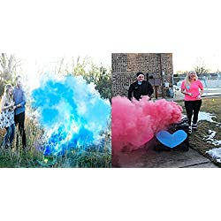 Baby Gender Reveal Smoke, 4 Pcs