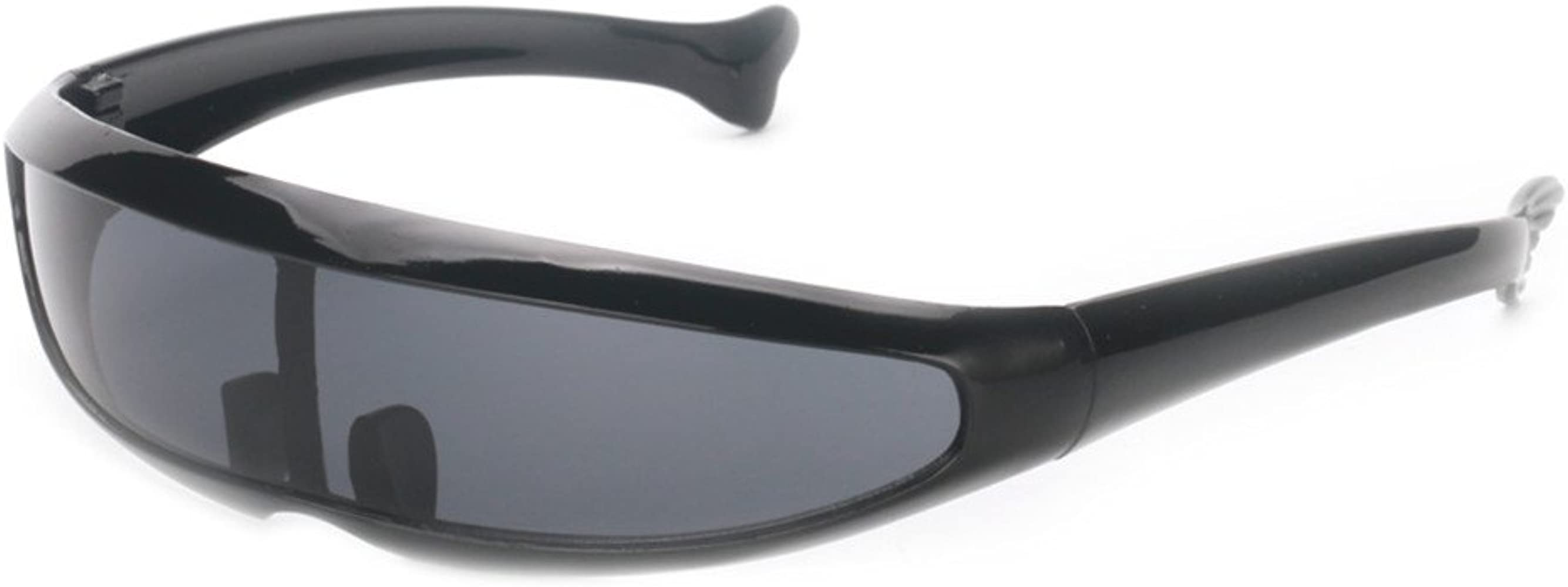 Women Funny Black Eyeglasses Silver Halloween Dressing Up Men Cool  UV400 SY