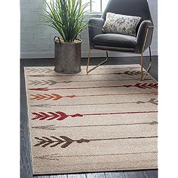 Amazon Com Unique Loom Autumn Collection Modern Arrows