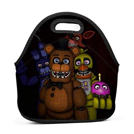Amazon com - Unwithered Freddy and Friends Waterproof Tote