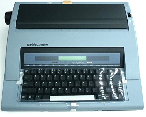 Amazon.com : Brand New Swintec 2416DM Electronic Portable Typewriter (64K Memory) : Office Products
