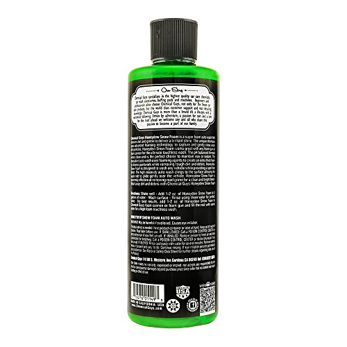 CHEMICAL GUYS HONEYDEW SNOW FOAM AUTO WASH CLEANSER 30%OFF