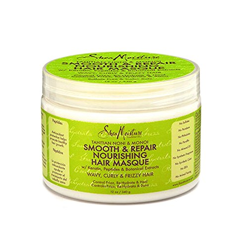 SheaMoisture Tahitian Noni & Monoi Oil Smooth & Repair Nourishing Hair Masque, 12 (Tahitian Mask)