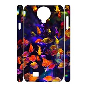 Colorful fish 3D-Printed ZLB608197 Custom 3D Cover Case for SamSung Galaxy S4 I9500