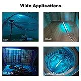 LAVAED 8W UV Lamp UV-C Light Ozone Bulb with 5ft