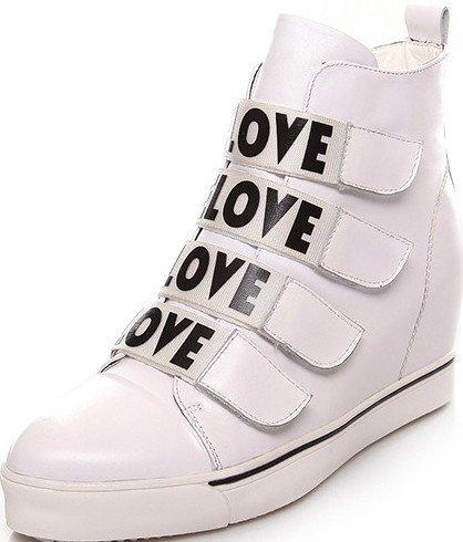Laruise Women's Elevator Sport Shoes White wbckzO