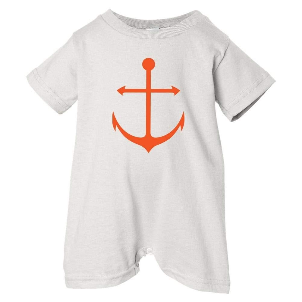 Orange T-Shirt Romper Pirates /& Anchors Unisex Baby Anchor