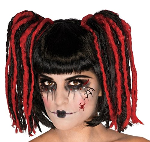 Gothic Doll Face Mask Tattoo