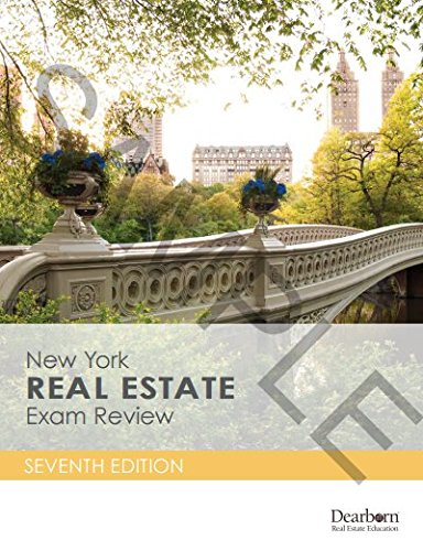 new york real estate exam review - 2