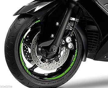 Set Tiras Adhesivo Compatible para Ruedas 14-13 Scooter J 300 Kawasaki J300: Amazon.es: Coche y moto