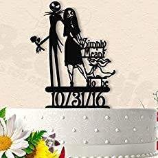 Magnificent Fall Wedding Cakes Big Wedding Cake Serving Set Shaped Wedding Cake Recipe Wedding Cake Pictures Youthful Disney Wedding Cake Toppers ColouredAverage Wedding Cake Cost Amazon.com: Jack And Sally Simply Meant To Be With Zero Wedding ..