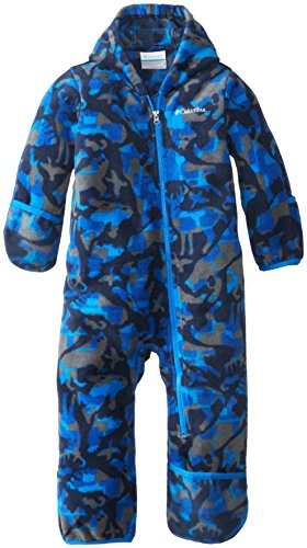 Columbia Baby Boys' Snowtop II Bunting, Hyper Blue Critter, 18-24 Months