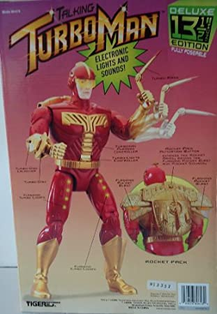 Amazon.com: TurboMan Electronic Jingle All the Way Turbo Man 13.5