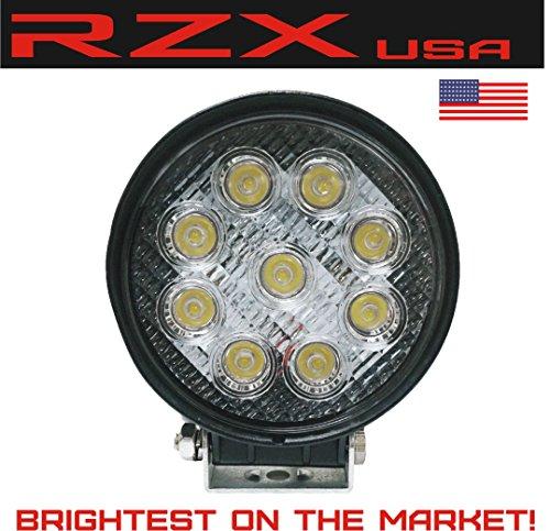 rzx-27w-led-4-round-pencil-beam-spot-light-off-road-rack-bar-lighting-4x4-trucks-jeeps-atv-utv-rhino