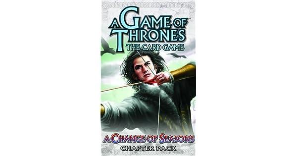 Amazon.com: Un Juego de Tronos LCG: El Cambio de las ...
