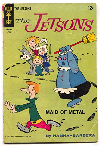 Jetsons #26 1968- MAID OF METAL- Gold Key VG]()