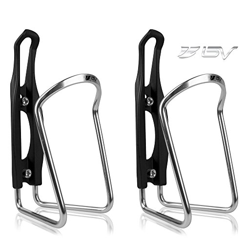 Water Bottle Cages Bicycle Alloy Aluminum Lightweight Water Bottle Holder 2 Pack