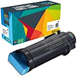 Do it Wiser Compatible Toner for Dell H625cdw H825cdw S2825cdn | 593-BBOX High Yield - Cyan