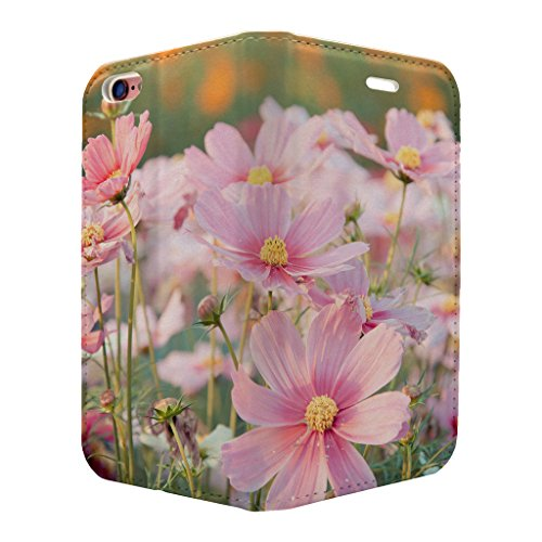 Cosmos Flower Full Case Flip Cover für Apple iPhone 6–6S – S3342