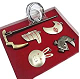 Touirch Anime Tokyo Ghoul Cosplay Weapon Necklace 5 Pcs Gift Set