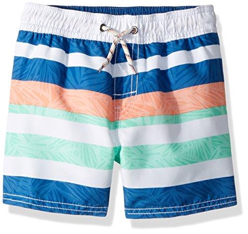 Price comparison product image Osh Kosh Boys' Kids Trunks, Turquoise Stripe, 7