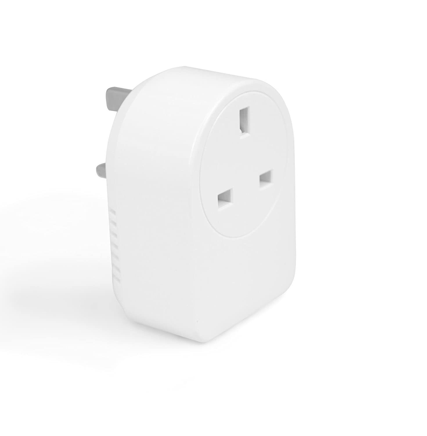 Aeotec Smart Switch Gen5, Z-Wave Plus remote control UK smart plug with energy metering and power reports, works with Electric Ireland Smarter Home Aeon Labs
