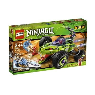 LEGO Ninjago Fangpyre Truck Ambush 9445: Toys & Games