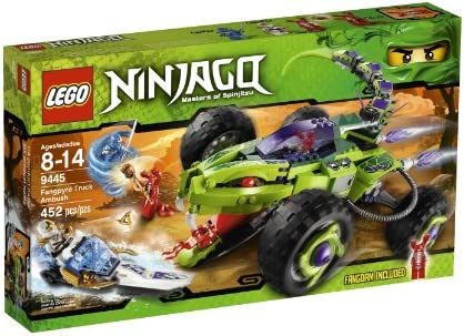 LEGO Ninjago Fangpyre Truck Ambush 452pieza(s) Juego de ...