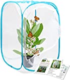 Restcloud Insect and Butterfly Habitat Cage Terrarium Pop-up 24 Inches Tall