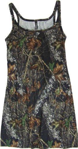 Mossy Oak Tank Dress Swimsuit Coverup Nightgown Juniors Medium by Mossy Oak
