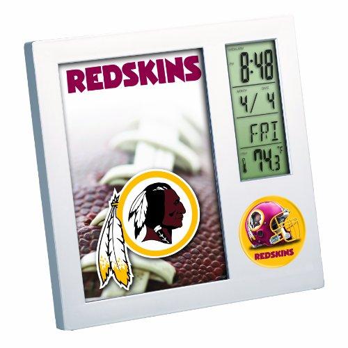 NFL Washington Redskins Digital Desk Clock