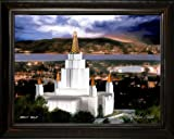 LDS Oakland Temple by Brent Borup 24x18 Single Frame - Framed Legacy Art