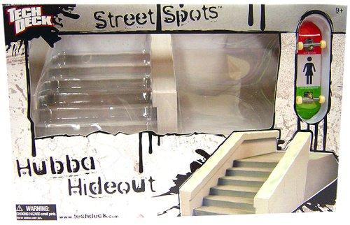 Tech Deck Street Spots Hubba Hideout