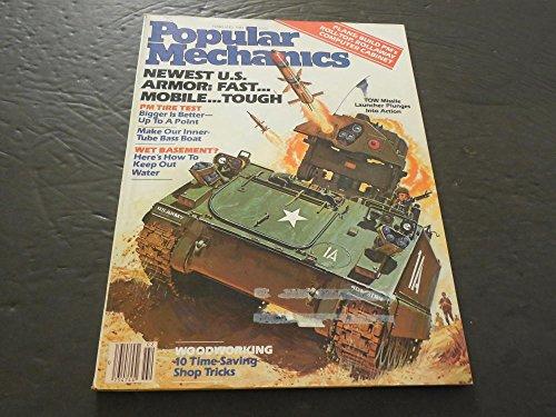 Popular Mechanics Feb 1984, Tow Missile Launcher, Make Inner-Tube Bass Boat - Make Bass Tube