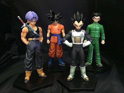 GANSUP Dragon Ball Z #B 4pc set PVC Figures 13cm toy doll gift