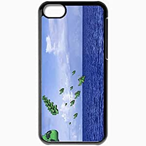Personalized iPhone 5C Cell phone Case/Cover Skin Advance Wars Black