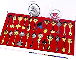 Goblins tail key chain pendant all 25 pieces set animation kit weapon model 6cm