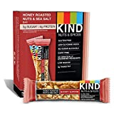 Kind Bars, Honey Roasted Nuts and Sea Salt, Gluten Free, Low Sugar, 1.4oz