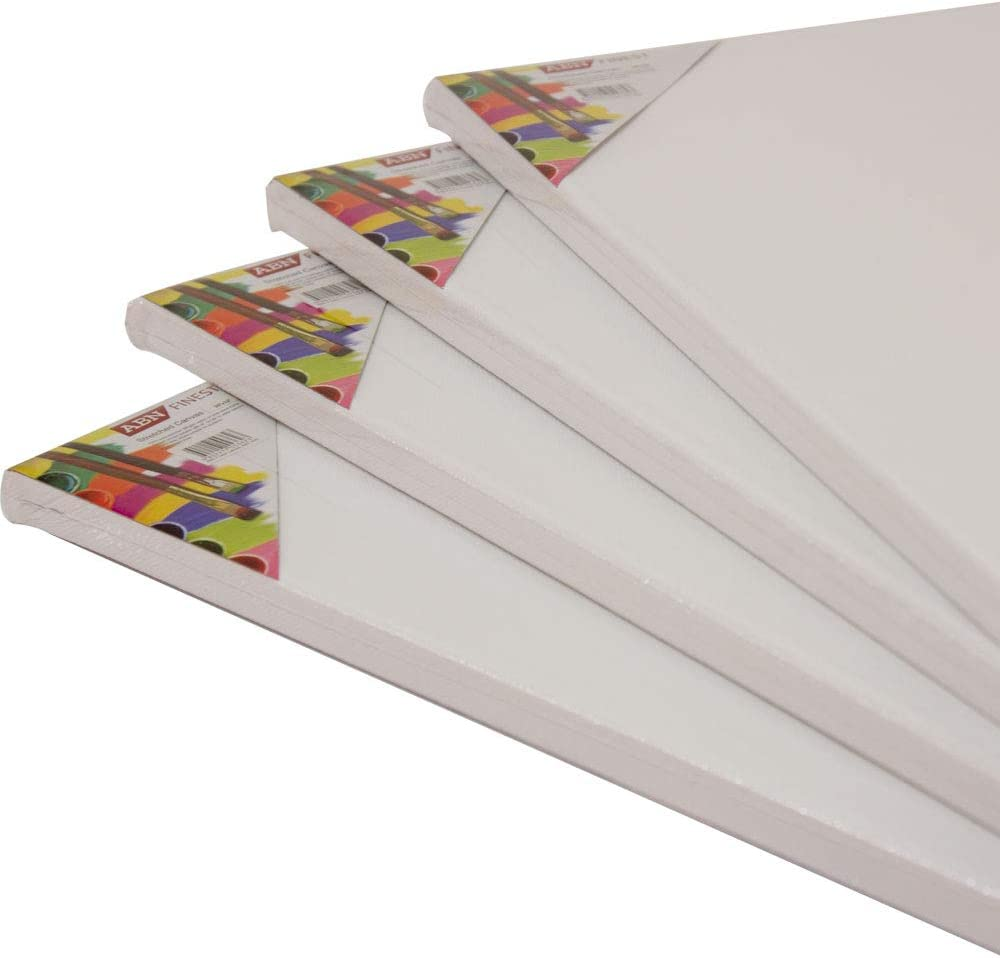 Water Acrylic Painting A1 Plain Artist Canvas Board Large Blank Stretched for Oil