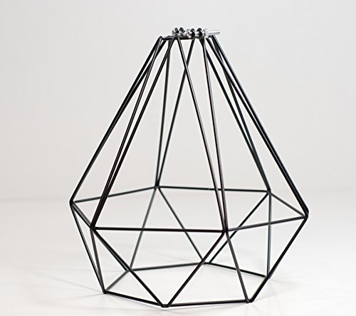 Diamond wire pendant cage lamp light shade midnight black amazon diamond wire pendant cage lamp light shade midnight black keyboard keysfo Image collections