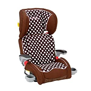 The First Years Compass B540 Booster Seat, Polka Dot (Discontinued by Manufacturer) (Discontinued by Manufacturer)