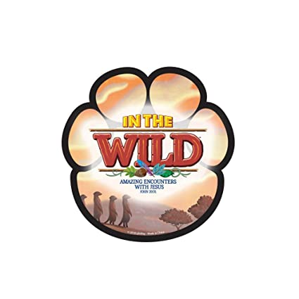 Amazon com: Removable Paw Prints Pkg  12 - in The Wild VBS by