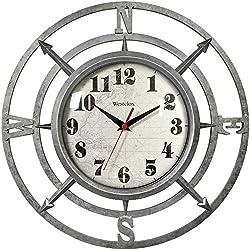 WESTCLOX 32021C 14 Round Compass Wall Clock Home, garden & living