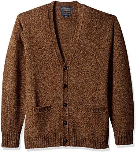 Pendleton Uomo's Shetlland Cardigan Sweater Sweater Cardigan - Choose SZ/color 8f7afb