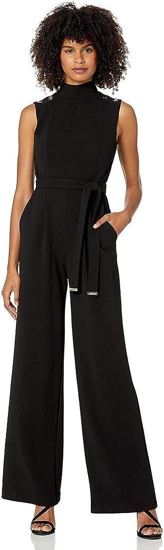 Tommy Hilfiger Max 65% OFF Women's Sales for sale Jumpsuit Neck Mock