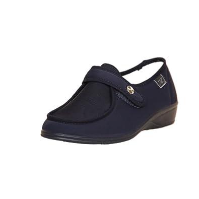 Zapatos Azul Y es Cutillas Velcro Doctor Mujer 41 746 Amazon 8qw7I