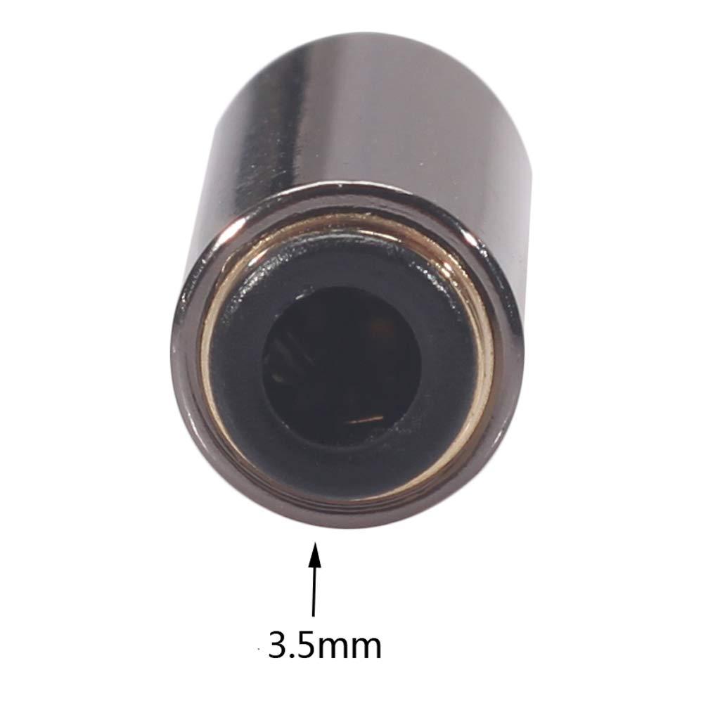 KESOTO Auriculares De 3,5 Mm Auriculares Micr/ófono CTIA A OMTP Adaptador Convertidor