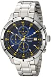 Compra Seiko Men's Quartz Stainless Steel Casual Watch, Color:Silver-Toned (Model: SKS575) en Usame