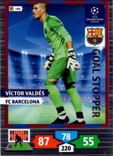 Panini Adrenalyn XL Ligue des Champions 12//13-278-VICTOR VALDES-Goal Stopper