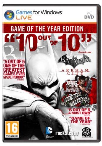 Batman Arkham City GOTY (Batman Arkham City Halloween Catwoman)